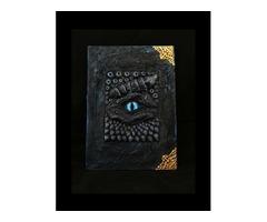 Око дракона блокнот гримуар, книга заклинань, книга тіней