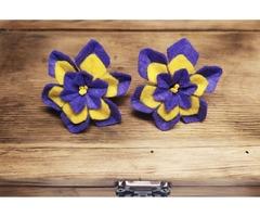 Резиночки-цветочки для маленьких принцесс