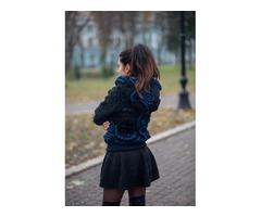 Прекрасная вязаная курточка