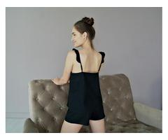 Пижама из натурального льна, льняная женская пижама