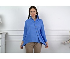 Льняная туника, блузка, рубашка из льна