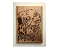 Г. Климт - «Поцелуй»