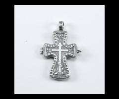Кулон крест православный